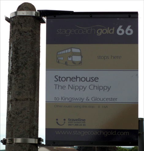 newer bus stop