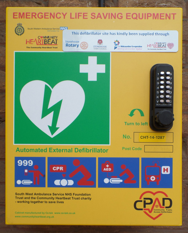 Defibrillator