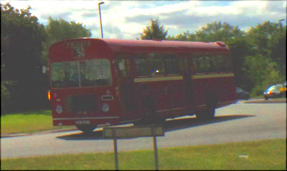 Old Stroud Bus