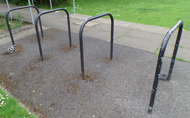 library cycle rack