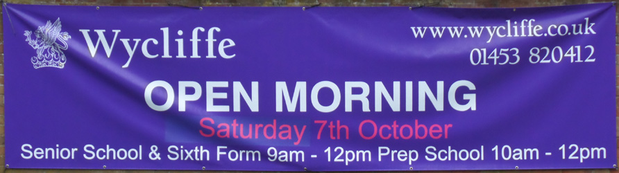 Wycliffe Open day