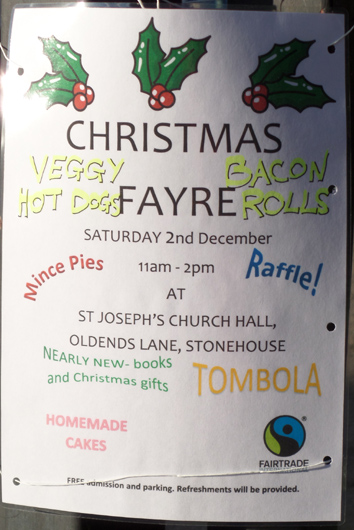 Christmas fayre